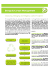 Energy and Carbon Management Brochure