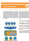Activity & Action Item Management Datasheet