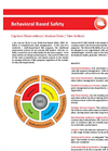 Behavioral Based Safety Software Datasheet