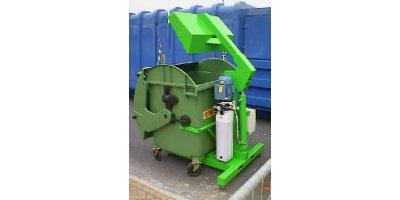 UK Waste - 1100 Litre Wheelie Bin