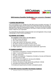 Certified GHG Gas Inventory Quantifier - Training