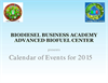 Calendar of Advanced Biofuel Events 2015