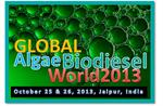 Global  Algae Biodiesel World 2013 - 2 Day Algae Fuel State of Art International Workshop