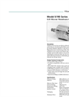 Model 6190 Series - Micron Membrane Gas Filter Brochure