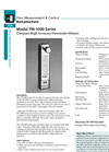 Model FM-1000 Series - Compact High Accuracy Flowmeter Brochure