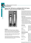 Model FM-1100 & FM-1127 Series - High Flow Capacity Flowmeters Brochure