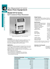 Model 8112 Series - Self-Contained Mass Flowmeter Brochure
