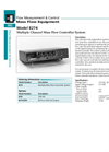 Model 8274 Series - Multiple Channel Mass Flow Controller System Brochure