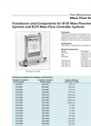 Models 8170 & 8270 - Transducers and Components Brochure