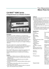 Cal-MAT - 4040 Series Computerized Gas Dilution System Brochure