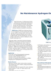 No Maintenance Hydrogen Generators