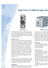 High Flow LC/MS Nitrogen Generators