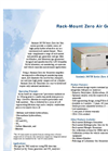 Rack Mounted Zero Air Generators