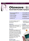 Amplivox - Hand Held Portable Tympanometers - Brochure