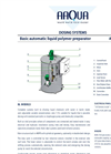 Flocculation and Polymer Dosing System Brochure