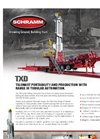 Model TXD - Trailer Mounted Drilling Rig Brochure