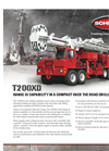 Model T200XD - Carrier Mounted Drilling Rig Brochure