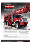 Model T685WS - Track Mounted Drilling Rig Brochure
