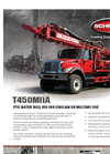 Model T450MIIA - Truck Mounted Drilling Rig Brochure