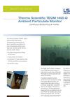 Teom - Model 1405-D - Continuous Dichotomous Ambient Particulate Monitor Brochure