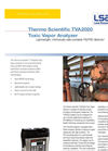 LSA - Model TVA2020 - Toxic Vapor Analyzer Brochure