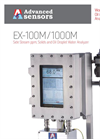 Advanced Sensors EX-100M / 1000M Side Stream Analyzer - Datasheet