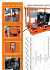 Model CD50 Series - Water Jetting Machines Brochure