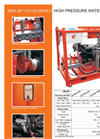 Model CD100 Series - Water Blasters and Water Jetting Machine Brochure