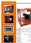 Model CD160 Series - Water Blasters and Water Jetting Machine Brochure