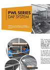 Open Tank Dissolved Air Flotation Systems PWL Series- Brochure