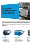 Sludge Dewatering Belt Filter Press - Brochure
