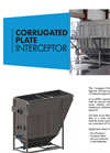 Corrugated Plate Interceptor - Brochure