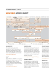 Minerals Access Sheet Brochure