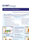 Continuous-Batch-Reactor (CBR) Packaged Wastewater Treatment Brochure