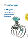 Model Mc Mag 3000 - Battery Powered Electromagnetic Flow Meter Brochure