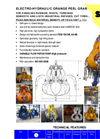 Model PH-0,9 - Electrohydraulic Grabs Brochure