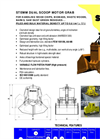 Model 2CH-0,6 - Dual Scoop Motor Grab Brochure
