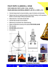 Model CMC-1,1 - Four Rope Dual Scoop Grab Brochure