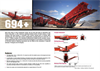 Terex Finlay 694+ Inclined Screens - Brochure