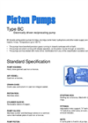 BC Series - Double Acting Piston Pump Brochure