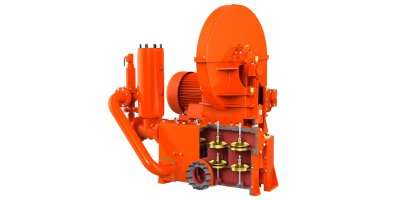 Iron Pump - Model BDV/BDHV Series  - Twin Cylinder and Double Acting Piston Pumps.