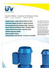 Double Orifice - Canister Air Release Valve Brochure