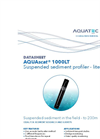 AQUAscat - Model 1000LT - Acoustic Profiler Acoustic Instrument- Brochure