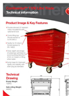 Continental - Model 1100 - Waste and Recycling Containers Brochure