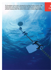 Nortek AS - Model Aquadopp - 3D Ocean Current Meter - Brochure