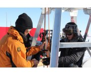 BAS begins monitoring waters under largest ice shelf in Antarctica