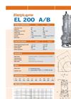 EL 200 A/B - Electric Pump Brochure