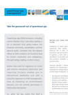 Greenhouse Gas (GHG) Brochure (PDF 81 KB)