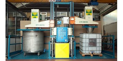 Model EW100/DS - Washing System with Solvent