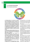 Phytodepuration Process - Technical Specifications